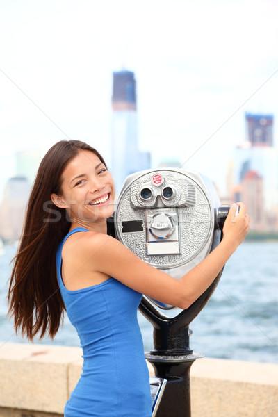New York tourist Stock photo © Maridav