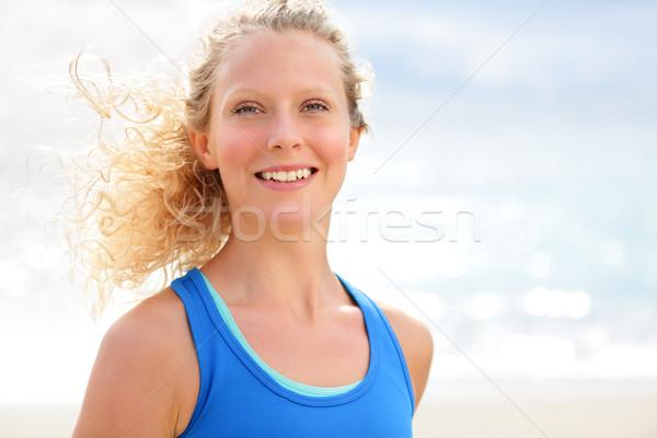 Lopen runner jogging buiten Stockfoto © Maridav