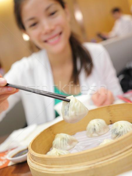 Xiao long bao / xiaolongbao soup dumplings Stock photo © Maridav
