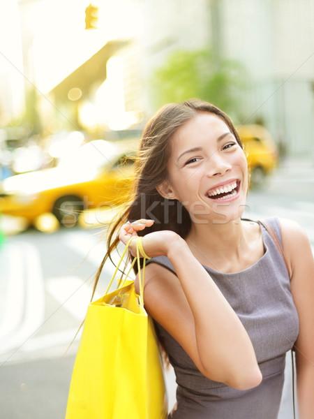 Shopping woman in New York City Stock photo © Maridav