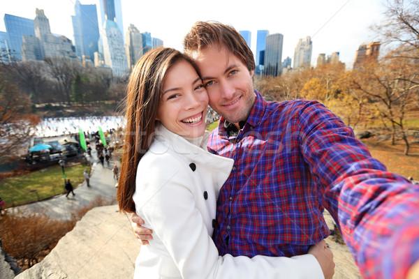 デート カップル 愛 セントラル·パーク ニューヨーク市 ストックフォト © Maridav