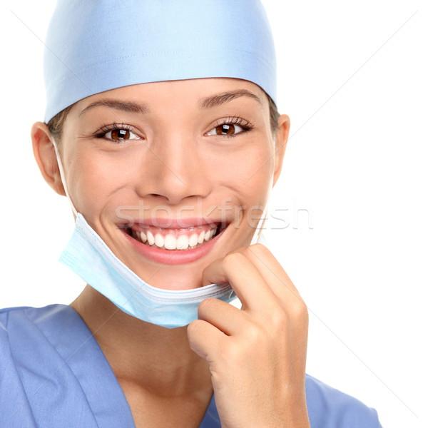 Zdjęcia stock: Medycznych · zawodowych · młodych · lekarza · kobieta · pielęgniarki