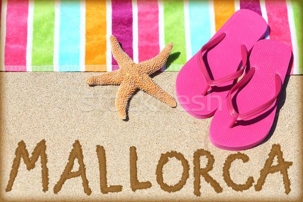 Mallorca beach travel Stock photo © Maridav