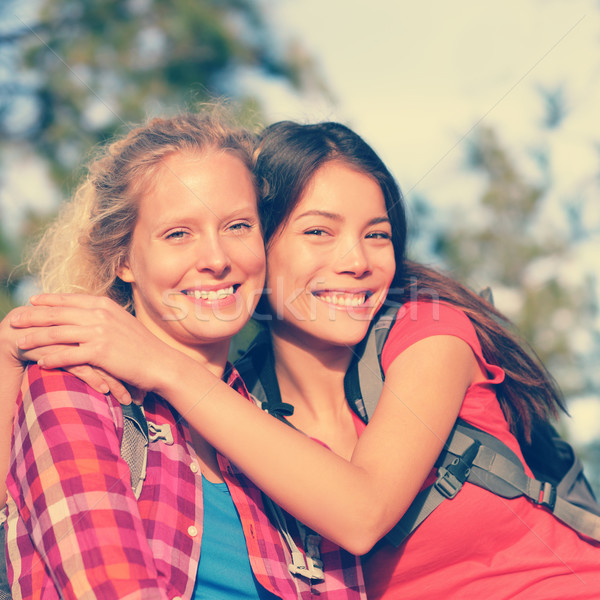 Сток-фото: девочек · походов · портрет · счастливым