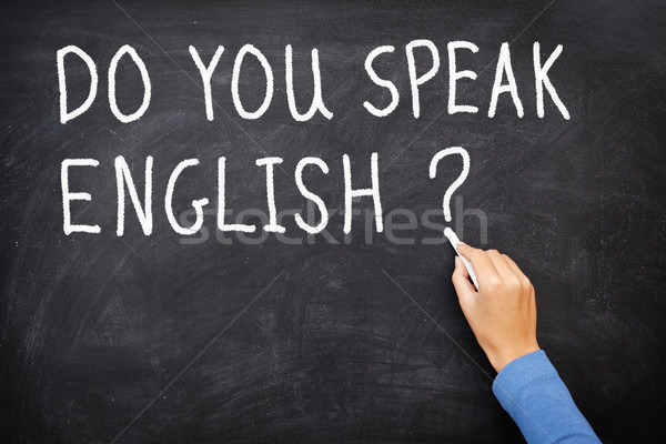 English Learning language Stock photo © Maridav