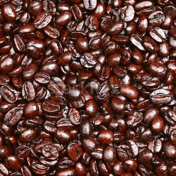 Coffee beans background Stock photo © Maridav