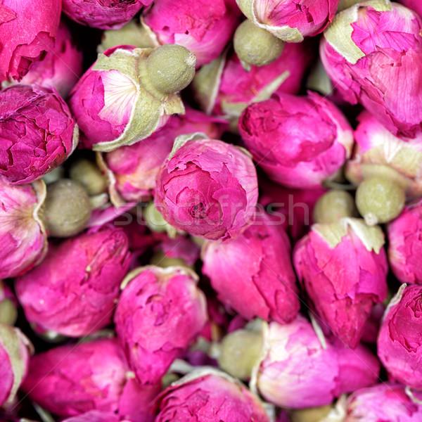 Stok fotoğraf: Kurutulmuş · gül · çiçekler · doku · çay