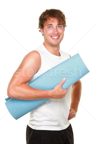 Fitness man isolated Stock photo © Maridav