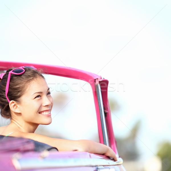 Car woman Stock photo © Maridav