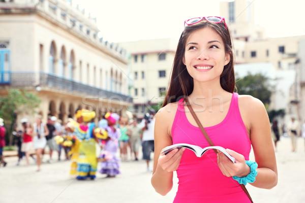 Havana Cuba turista viajar guiá livro Foto stock © Maridav