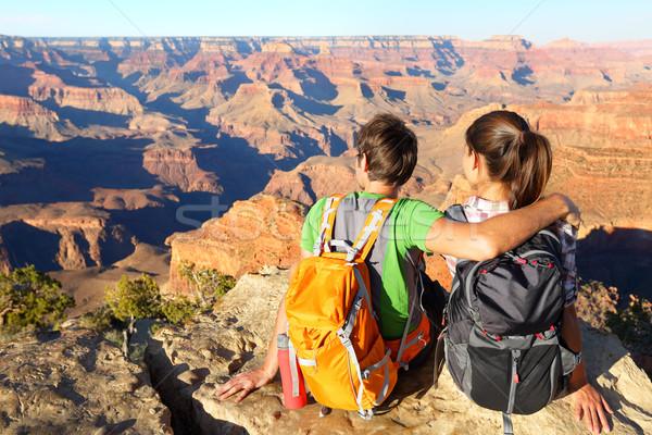 Caminhadas Grand Canyon ver natureza Foto stock © Maridav