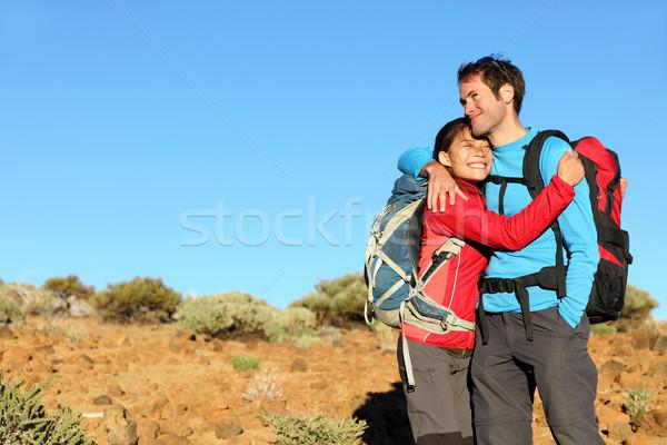 Happy couple healthy lifestyle Stock photo © Maridav