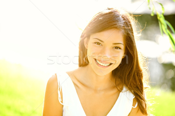 Summer girl portrait Stock photo © Maridav