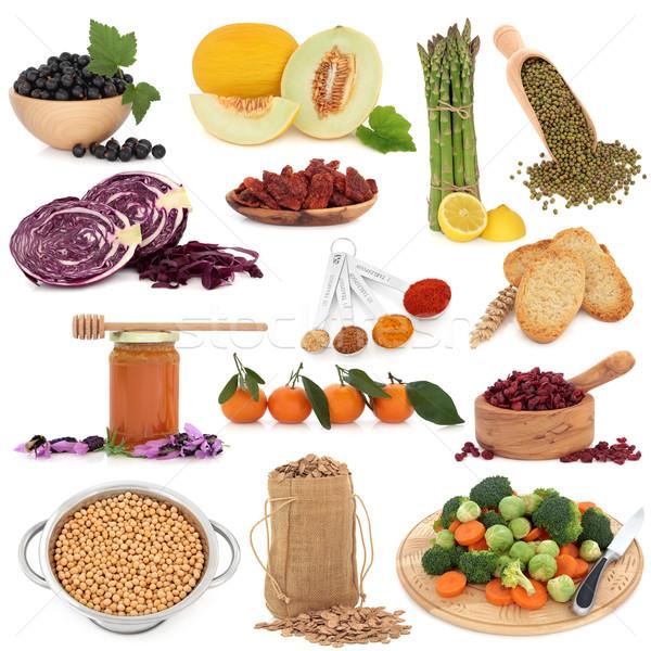 Healthy Food Sampler Stock photo © marilyna