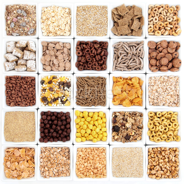 Large Breakfast Cereal Selection Stock photo © marilyna