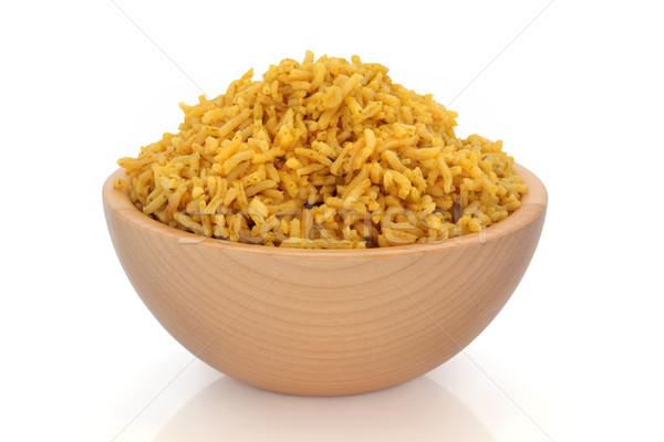 Pilau Rice Stock photo © marilyna