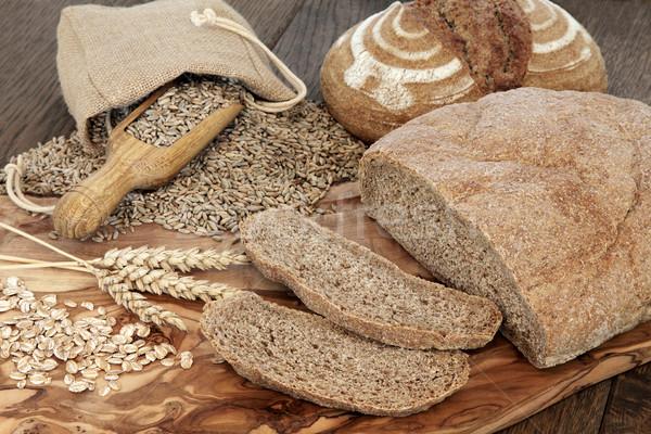 Organic Brown Bread Stock photo © marilyna