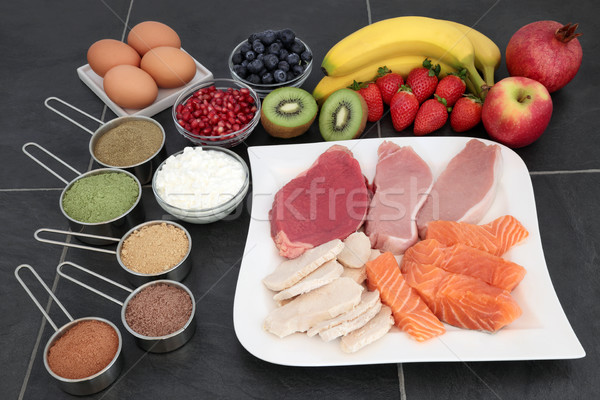 ボディービル 健康 食品 高い タンパク質 ストックフォト © marilyna
