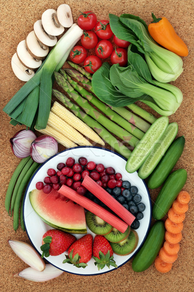 Eat Healthy Food Stock photo © marilyna