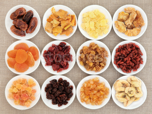 Dried Fruit Assortment Stock photo © marilyna