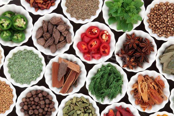 Spice and Herb Ingredients Stock photo © marilyna