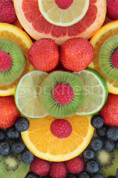 Stok fotoğraf: Yemek · daha · fazla · meyve · soyut · dizayn · gıda