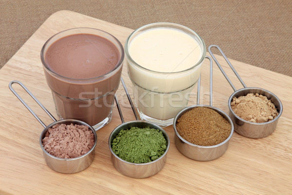 Body Building Powders and Drinks Stock photo © marilyna