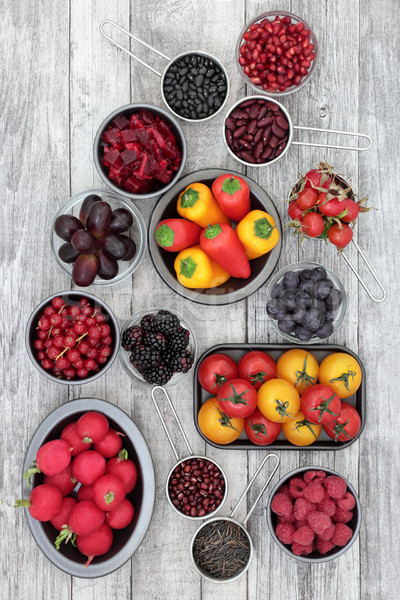 Stock photo: Health Eating with Anthocyanin Food
