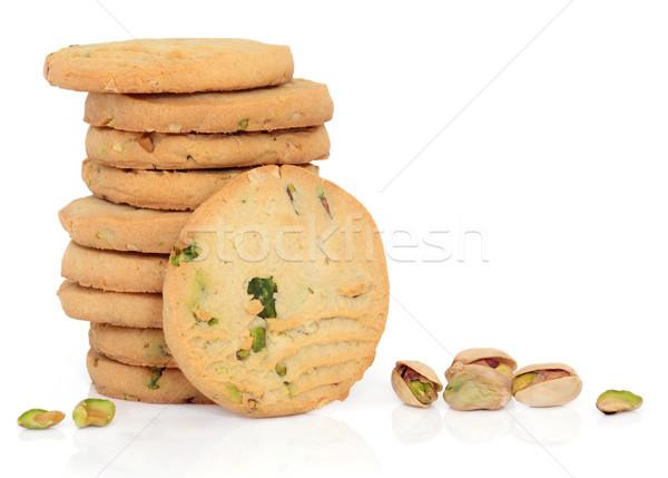 Pistache écrou biscuits cookie détacher Photo stock © marilyna