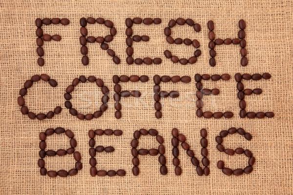 Fresh Coffee Beans Stock photo © marilyna
