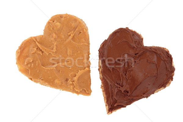 Stock photo: Peanut Butter and Chocolate Snack