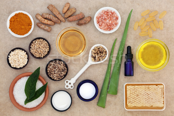 Skincare Ingredients to Soothe Psoriasis Stock photo © marilyna