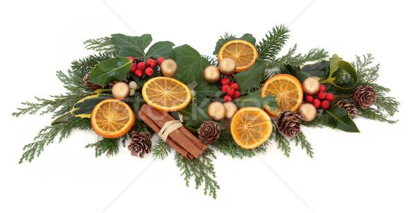Christmas Decorative Display Stock photo © marilyna