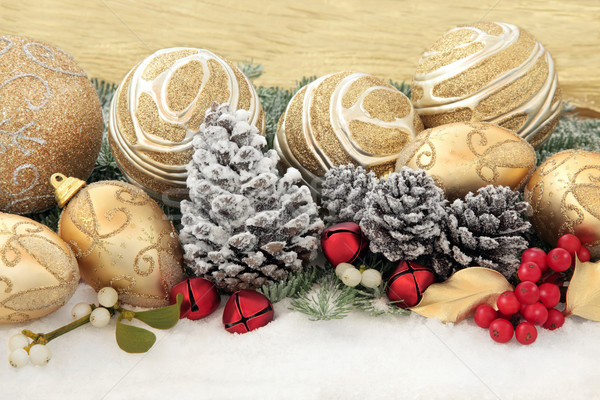 Christmas Decorations Stock photo © marilyna
