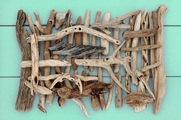 Ancient Driftwood  Stock photo © marilyna