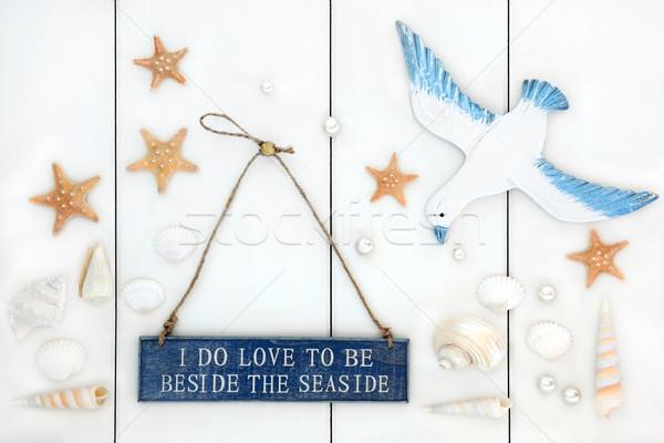 Seaside Abstract   Stock photo © marilyna