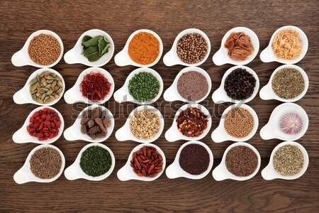 Herbs n Spices is Nice Stock photo © marilyna