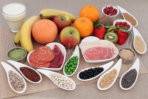 Super alimentare salute alto proteine Foto d'archivio © marilyna