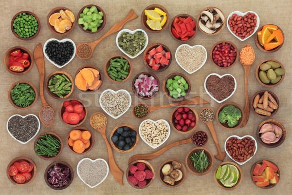 ストックフォト: ダイエット · 健康 · 食品 · ボウル · 側位 · 高い