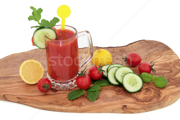 Tomato Juice Health Drink Stock photo © marilyna