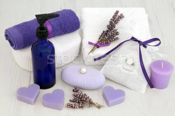 Lavender Skincare Treatment Stock photo © marilyna