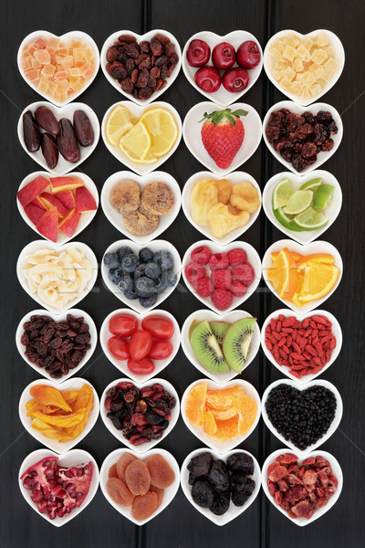 Fruits mixte super alimentaire fruits Photo stock © marilyna