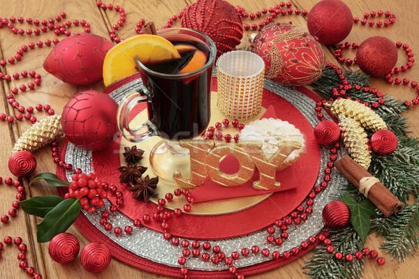 Christmas Still Life Scene Stock photo © marilyna