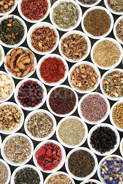 Herbal Tea Selection Stock photo © marilyna