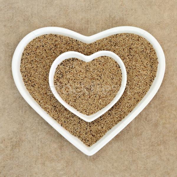 Teff Grain Health Food Stock photo © marilyna