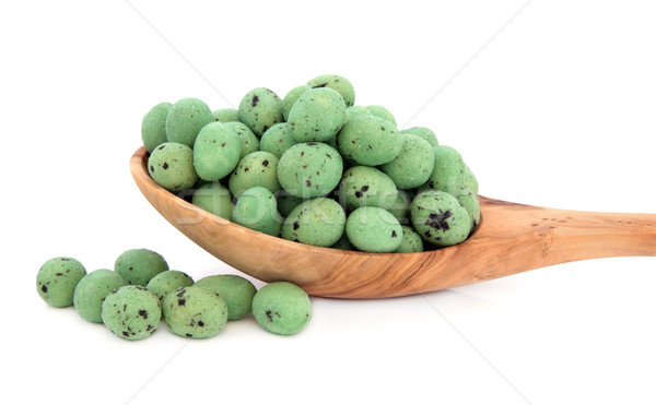 Wasabi Peanuts Stock photo © marilyna