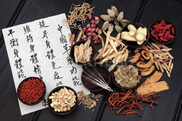 Traditional Chinese Medicine Stock photo © marilyna