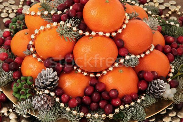Festive Fruit Delight Stock photo © marilyna
