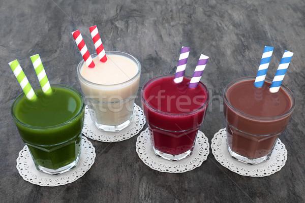 Health Food Drinks Stock photo © marilyna