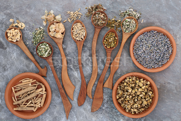 Healing Herbs for Sleeping Disorders Stock photo © marilyna